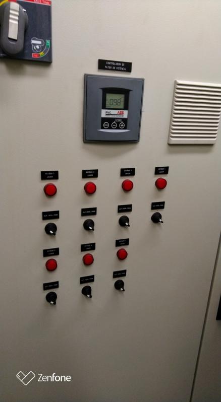 Banco Capacitor Trifasico Campo das Vertentes - Banco Capacitor Rede de Distribuição