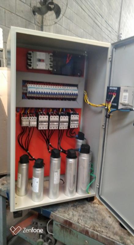Bancos Capacitores Automáticos Taboão da Serra - Banco Capacitor Trifasico