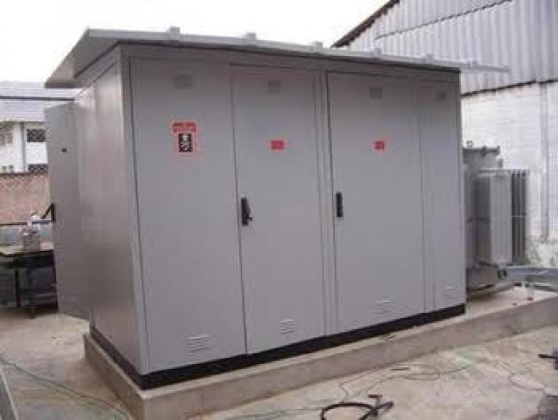 Manutenção de Cabine Primária de Energia Elétrica Mairiporã - Cabine Primária Alta Tensão