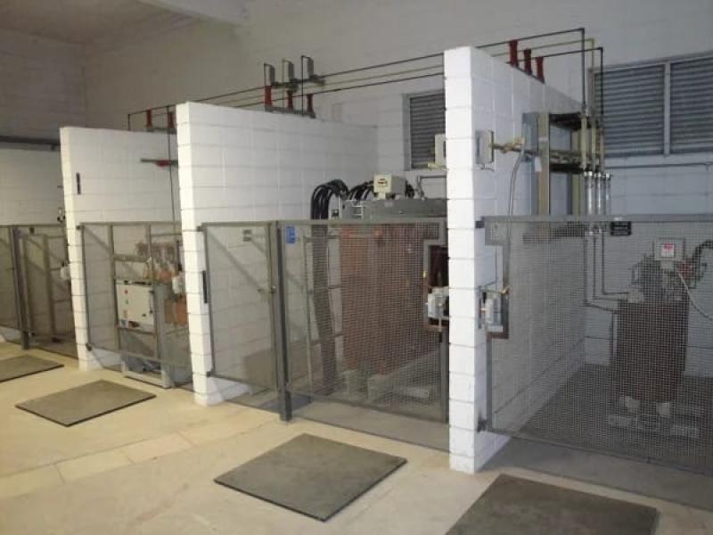 Manutenção Preventiva em Cabine Primária de Energia