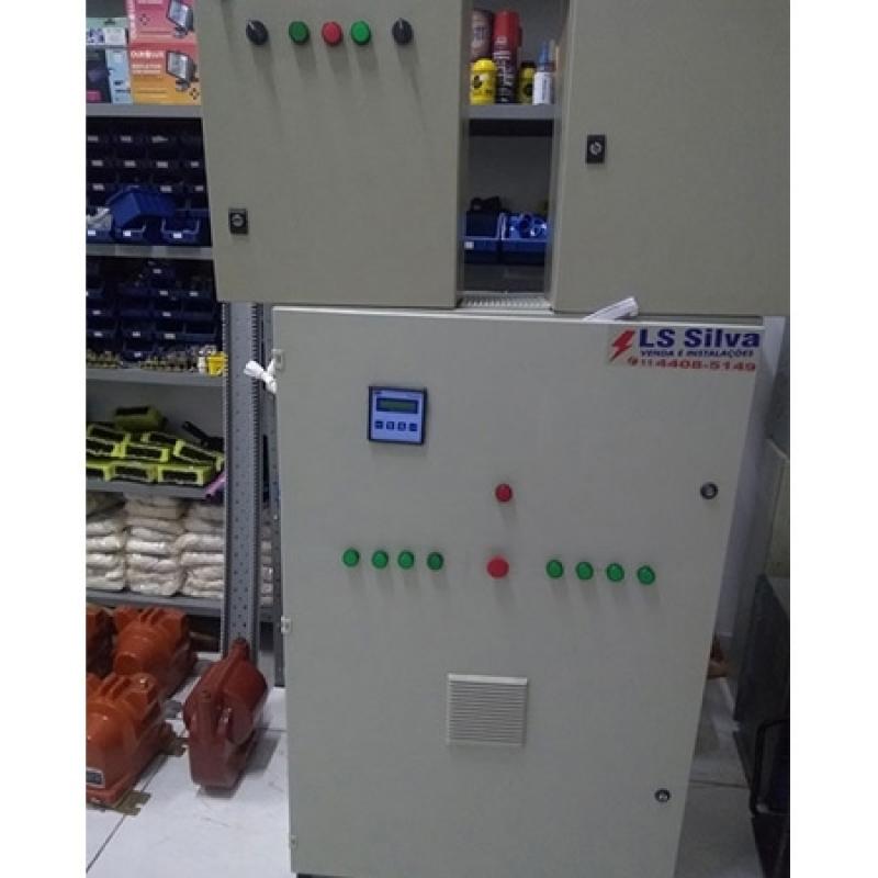 Onde Encontro Banco de Capacitor 500 Kvar Região Central - Banco de Capacitor Alta Tensão