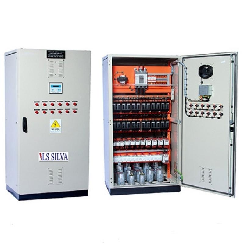 Quanto Custa Banco de Capacitor 500 Kvar Mairiporã - Banco de Capacitor Automático