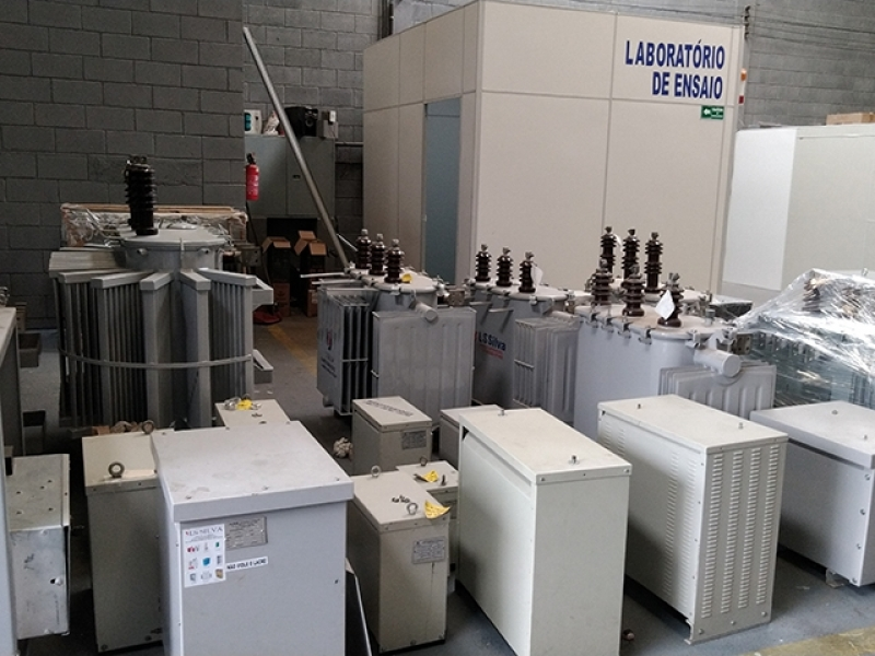 Serviço de Manutenção Corretiva de Transformador Industrial Região Central - Manutenção Corretiva de Transformador Industrial