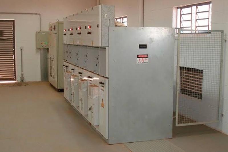 Manutenção Preventiva em Cabine Primária Industrial