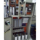 banco de capacitor automático