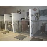 cabine primária de energia elétrica Parque Dom Pedro