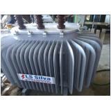 transformador a óleo utilizado em cabine primária Biritiba Mirim