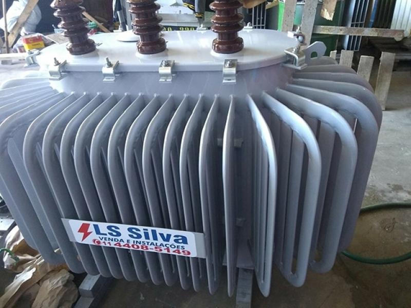 Transformador a óleo 150 Kva Osasco - Transformador com óleo
