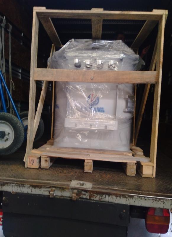 Transformador a óleo para Energia Parque Dom Pedro - Transformador com óleo