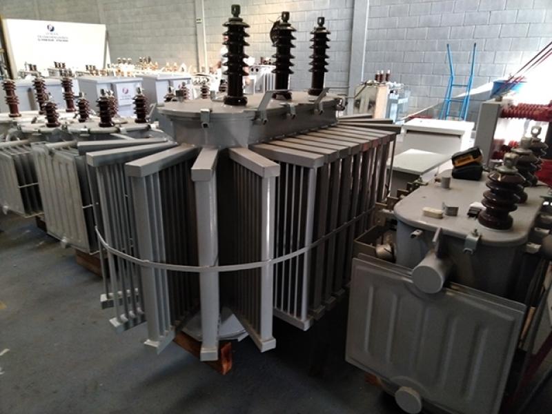 Transformador a óleo para Indústria Arujá - Transformador a óleo 300 Kva