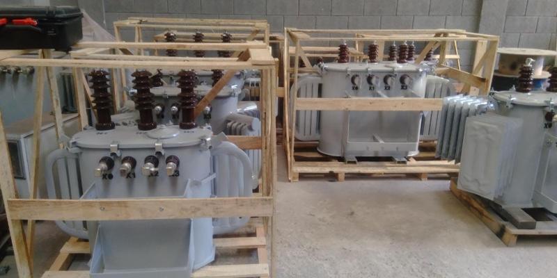 Transformador a óleo Trifásico Campo das Vertentes - Transformador a óleo de Energia