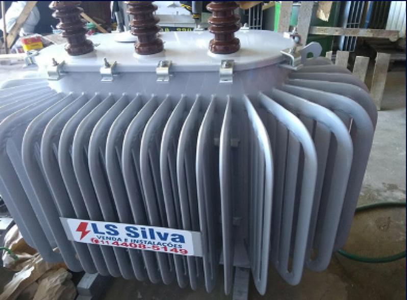 Transformador a óleo Utilizado em Cabine Primária Biritiba Mirim - Transformador a óleo para Posto de Transformação