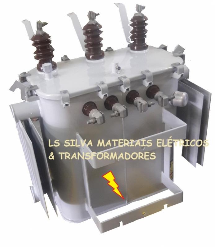Transformador com óleo 300 Kva Preço Cotia - Transformador a óleo de Energia