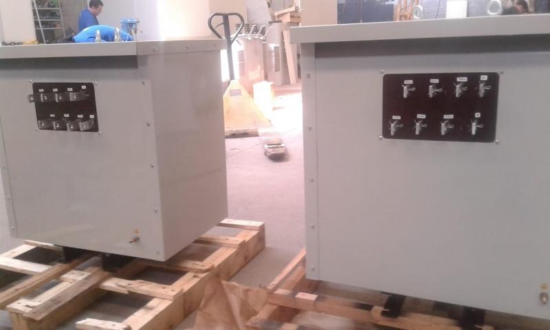 Transformador Isolador a Seco Roosevelt (CBTU) - Transformador Isolador a Seco