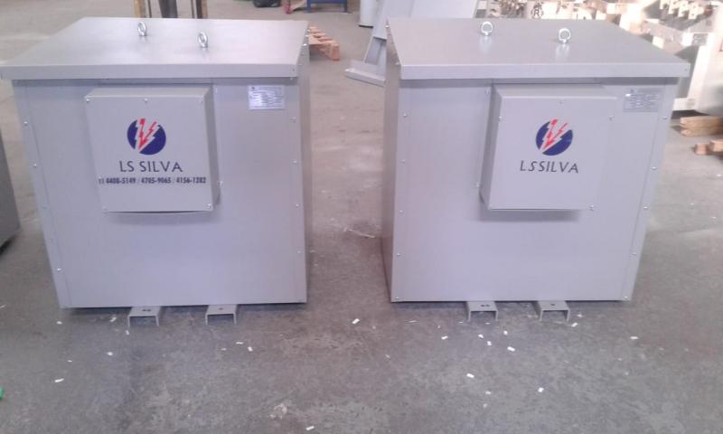 Transformador Isolador Bifásico Parque Dom Pedro - Transformador Isolador Monofásico