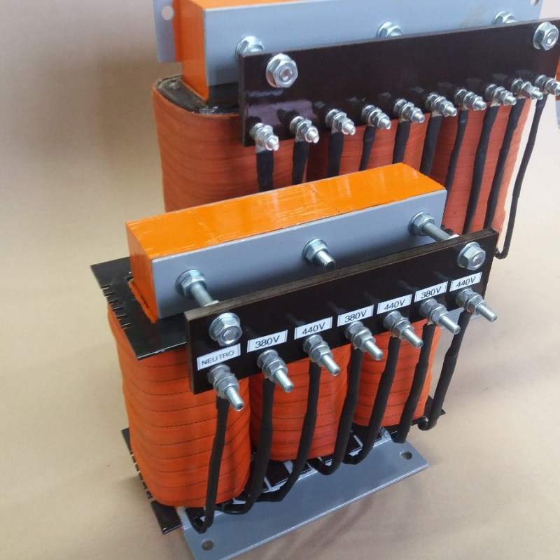Transformador Isolador com Blindagem Eletrostática Cambuci - Transformador Isolador com Blindagem Eletrostática