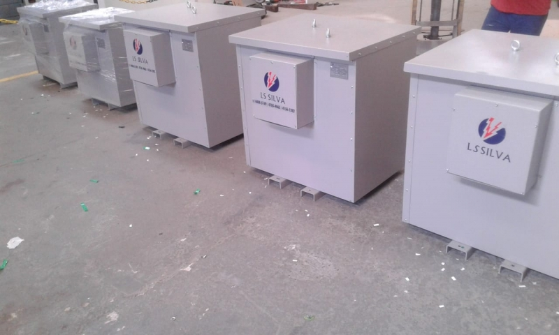 Transformador Isolador para Energia Fotovoltaica Caraguatatuba - Transformador Isolador de Segurança