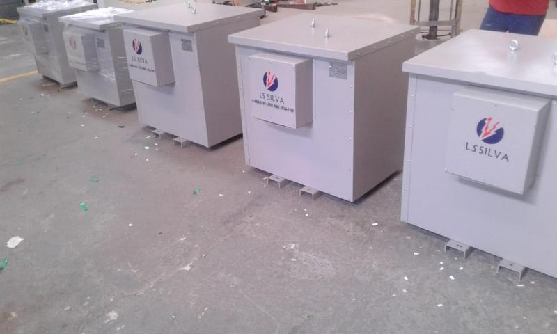 Transformador Isolador para Energia Solar Melhor Preço São Vicente - Transformador Isolador Trifásico a Seco