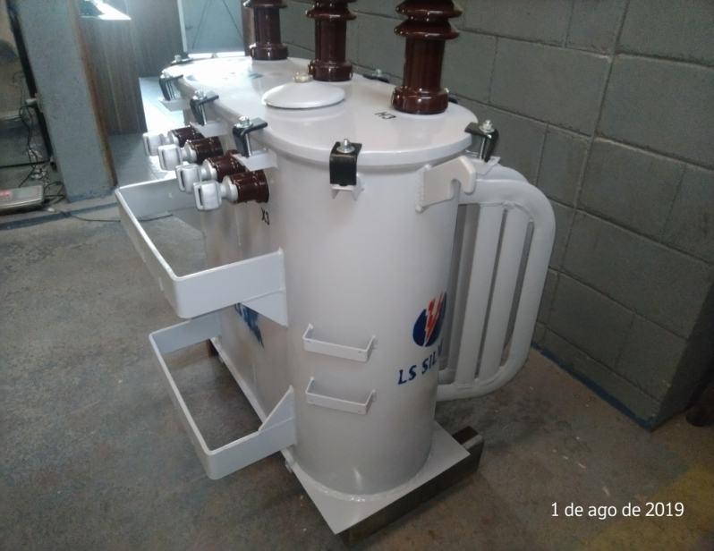 Transformador Trifásico a óleo Preço Rio Grande da Serra - Transformador a óleo Monofásico
