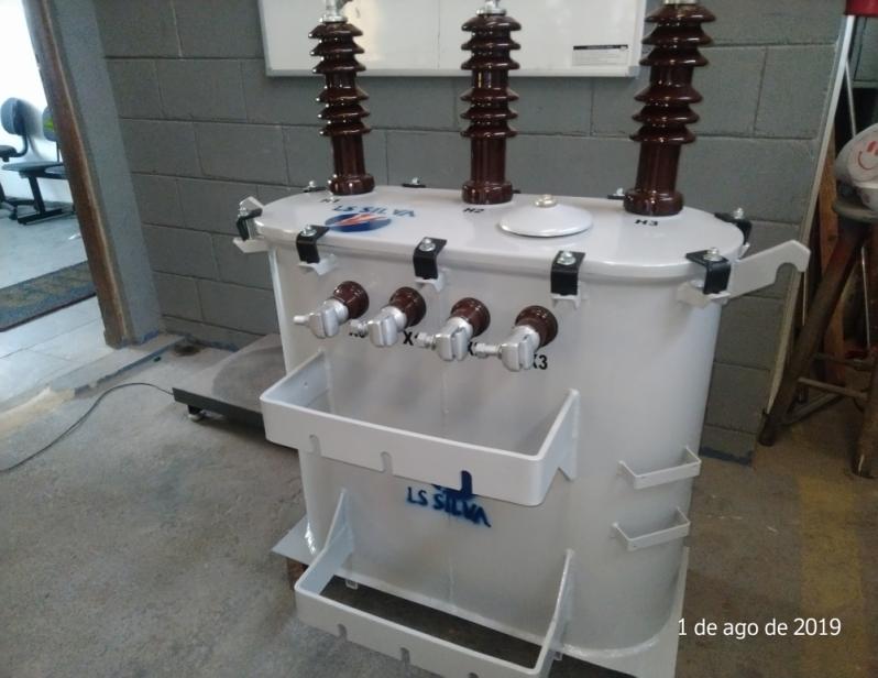 Transformador Trifásico a óleo Roosevelt (CBTU) - Transformador Trifásico a óleo