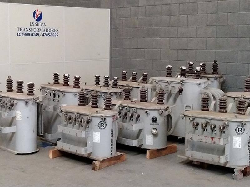 Venda de Transformador a óleo 225 Kva Região Central - Transformador a óleo 225 Kva