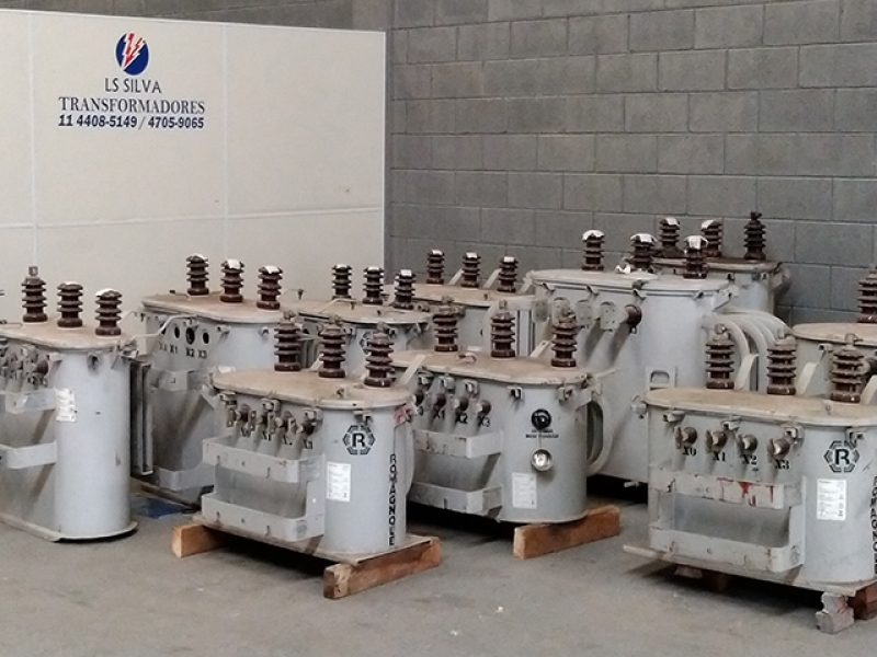 Venda de Transformador de óleo Vargem Grande Paulista - Transformador a óleo 300 Kva